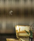 Roberto Cavalli Home No.3 Decorative Wall Panel Logo Geometria RC17207 By Emiliana For Colemans